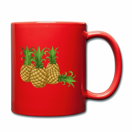Ananas - Tasse einfarbig