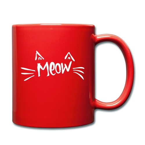 Vorschau: meow2 - Tasse einfarbig