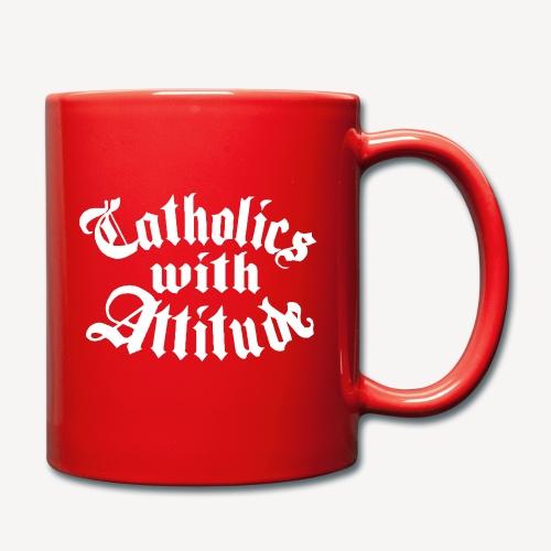 Catholics With Attitude - Full Colour Mug