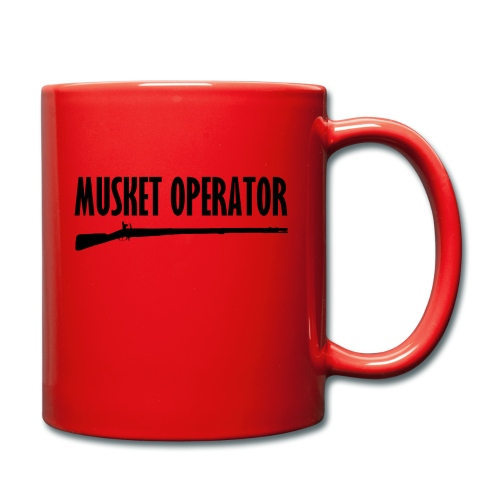 Musket Operator - Tasse einfarbig