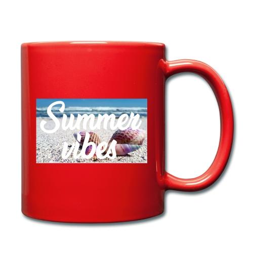 Summervibes - Tasse einfarbig