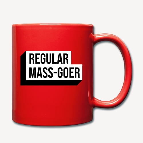 REGULAR MASS GOER - Full Colour Mug