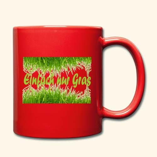 einfach nur gras2 - Tasse einfarbig