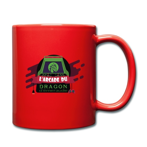 L'arcade du Dragon d'émeraude - Mug uni
