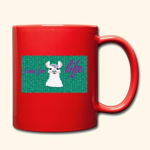 lama / alpaca - Tasse einfarbig