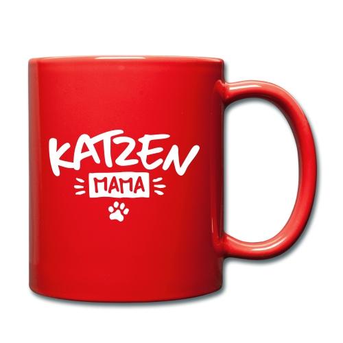 Vorschau: Katzen Mama - Tasse einfarbig