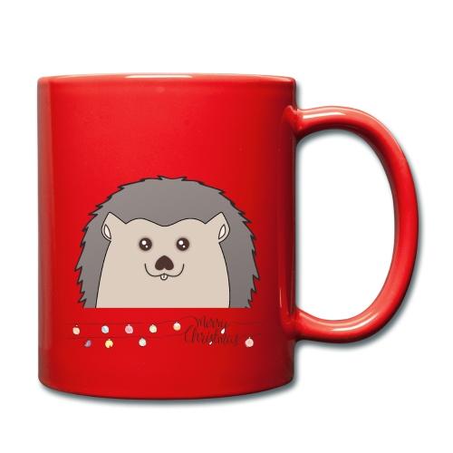 Hed wünscht Merry Christmas - Tasse einfarbig
