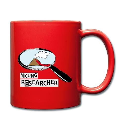 Young Researcher Volcano Wissenschaft - Tasse einfarbig