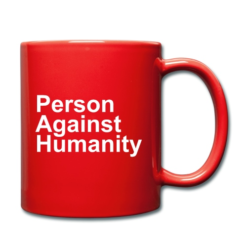 PERSON AGAINST HUMANITY BLACK - Full Colour Mug