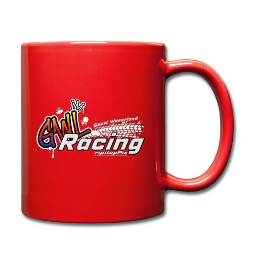 GWL-Racing inkl. Schatten - Tasse einfarbig