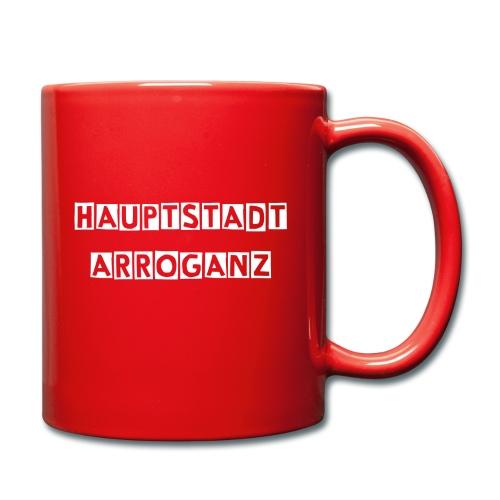 Hauptstadtarroganz - Tasse einfarbig