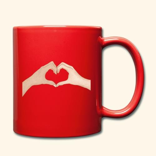 Mains Coeur Amour - Love hands - Mug uni