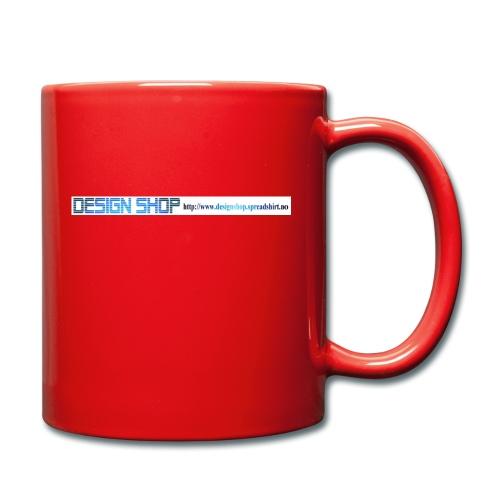 ny logo lang - Ensfarget kopp