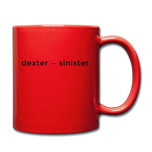 dexter sinister - Enfärgad mugg