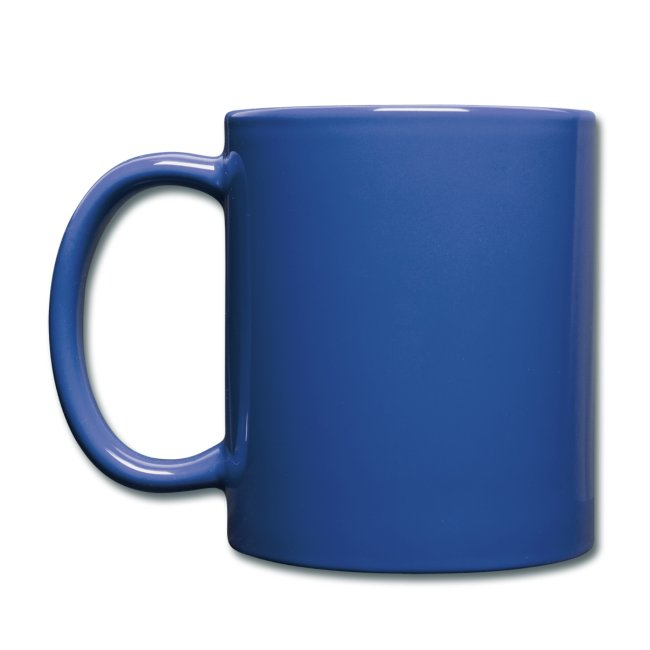 Vorschau: meine kinder haben pfoten - Tasse einfarbig