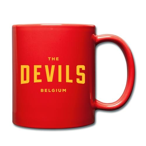 les diables belgique Belgique - Mug uni