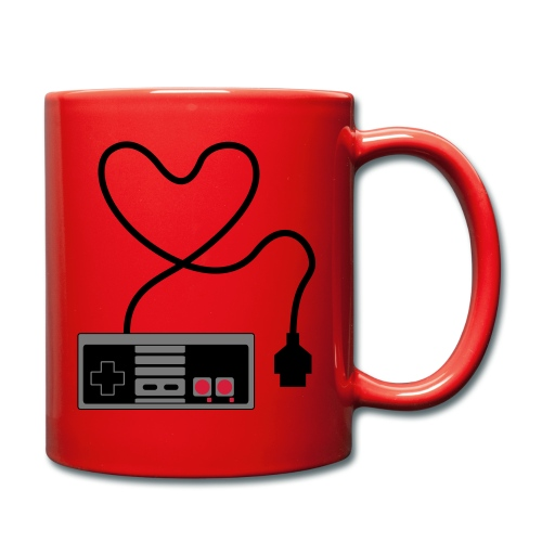 NES Controller Heart - Full Colour Mug