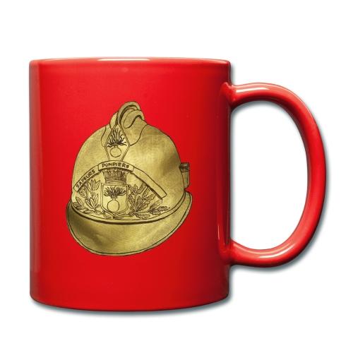 Casque pompier - Mug uni