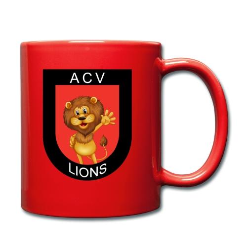 Lions logo - Tasse einfarbig