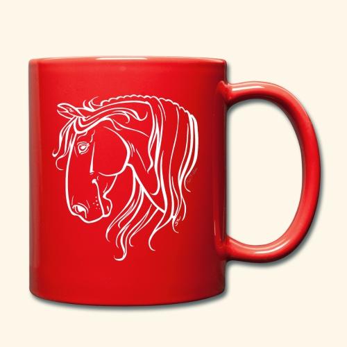 Cheval espagnol (blanc) - Mug uni