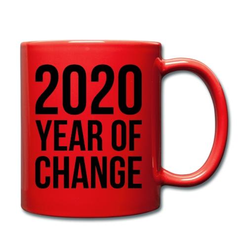 - 2020 Year of change - Tasse - Tasse einfarbig