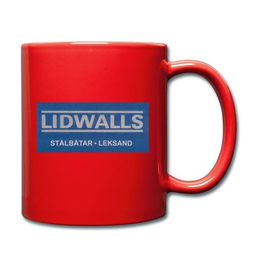 Lidwalls Stålbåtar - Enfärgad mugg