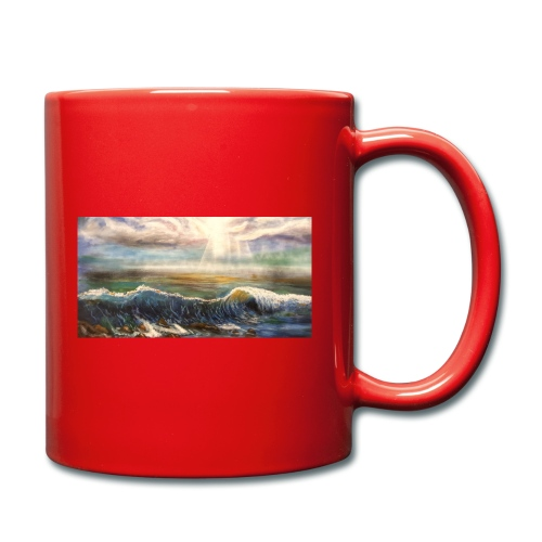 Welle - Tasse einfarbig