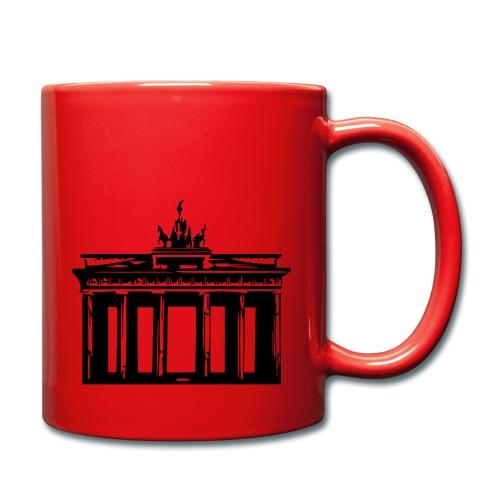 Brandenburger Tor - Tasse einfarbig