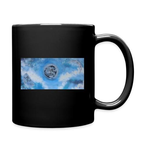 La lune dans tous ses etats - Mug uni