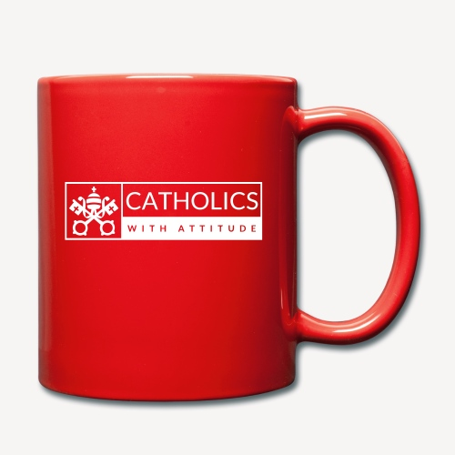 CATHOLICS WITH ATTITUDE - Full Colour Mug