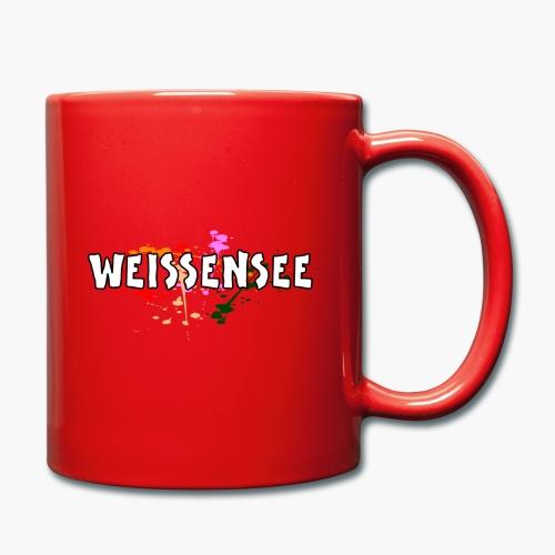 Weissensee - Tasse einfarbig