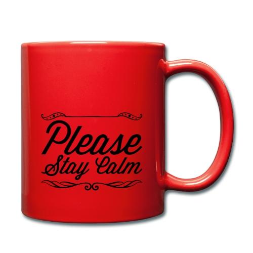 Please Stay Calm - Full Colour Mug