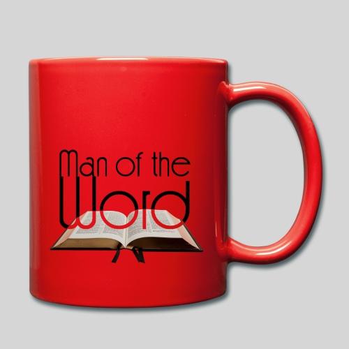 man of the Word - Mann des Wortes - der Bibel - Tasse einfarbig