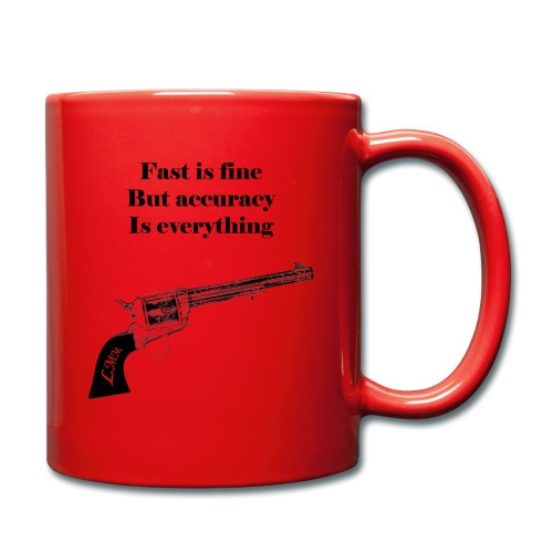 Wyatt Earp maxi noir png - Mug uni