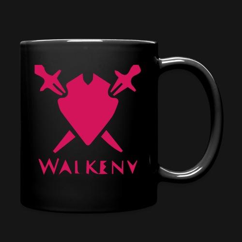 Das Walkeny Logo mit dem Schwert in PINK! - Tasse einfarbig