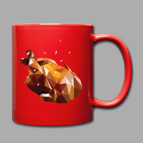 Turkey polyart - Full Colour Mug
