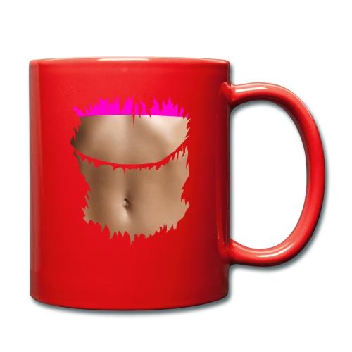 t shirt ventre plat brassiere rose - Mug uni