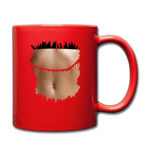 t shirt ventre plat brassiere noire - Mug uni