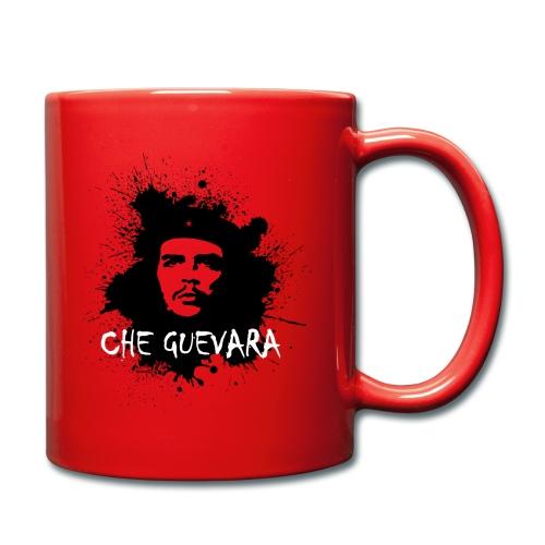 Che Guevara Splatter Männer Langarmshirt - Tasse einfarbig