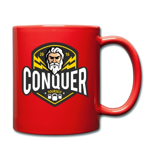 Conquer Yourself Clothing - Tasse einfarbig