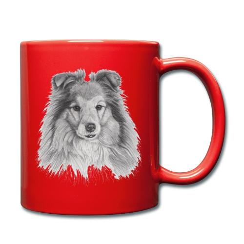 shetland sheepdog sheltie - Ensfarvet krus