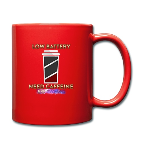 Esva's BRB Low Batt Cup - Full Colour Mug