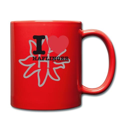I love Haflinger - Tasse einfarbig