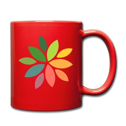 Logo Kita Waldquelle e.V. - Tasse einfarbig