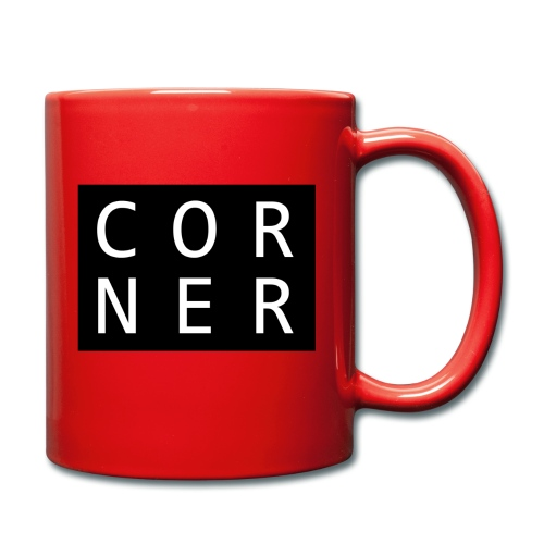 cornerbox - Ensfarvet krus