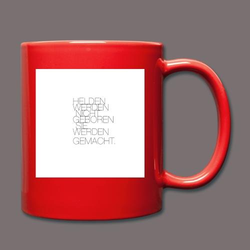 Helden - Tasse einfarbig