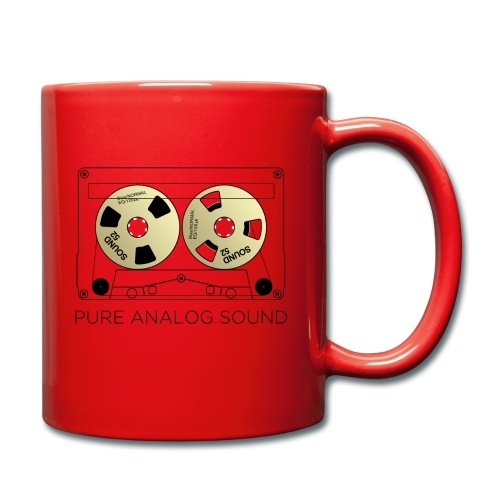 Reel gold cassette white - Full Colour Mug