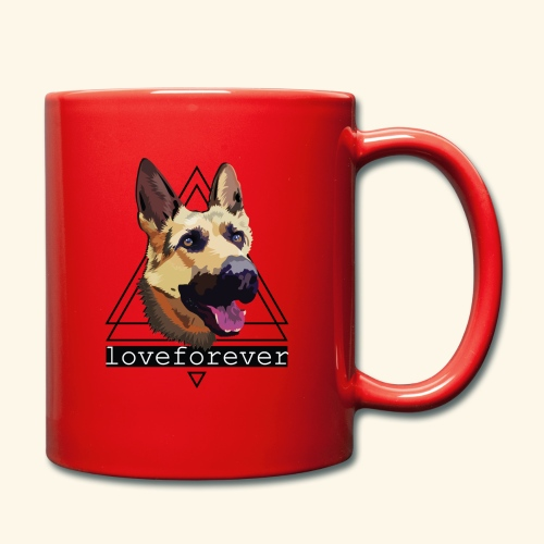 SHEPHERD LOVE FOREVER - Taza de un color