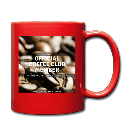 Official Coffee Club Member - Full Colour Mug