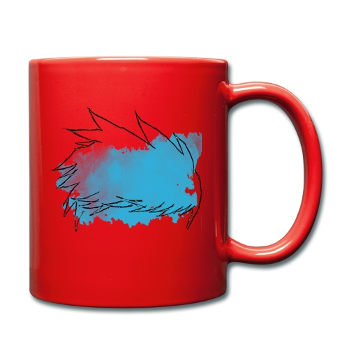 Blue Splat Original - Full Colour Mug